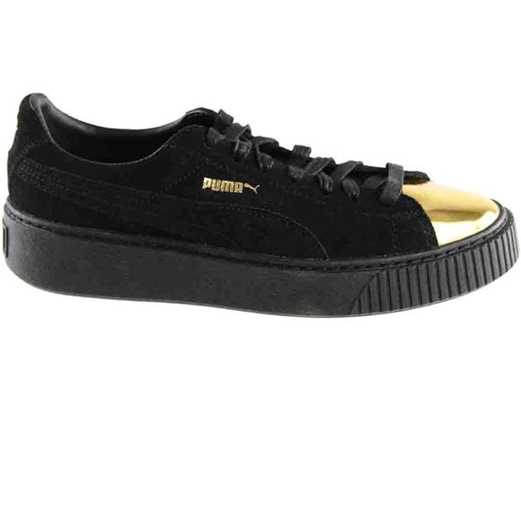 02a9ae686 Women s Puma black suede platform tennis shoes 8.5.  M 5b6717e5dcf855133fee9141